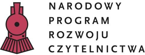 Logotyp. Narodowy Program Rozwoju Czytelnictwa.